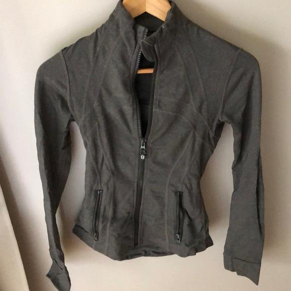 Lululemon Green define jacket zip up